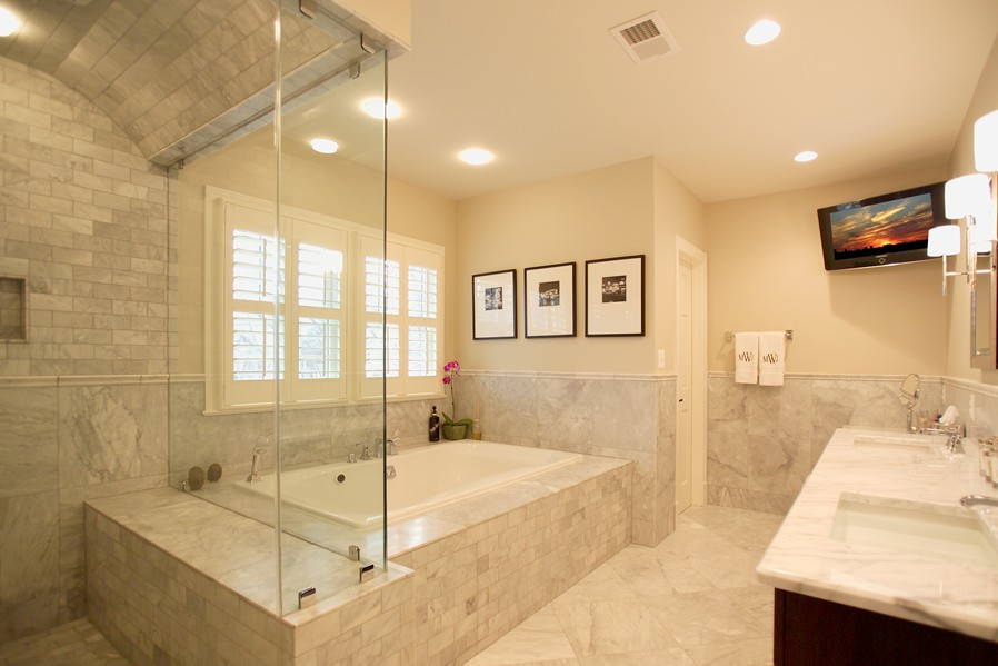 Custom renovation gallery constructive inc for View bathroom designs